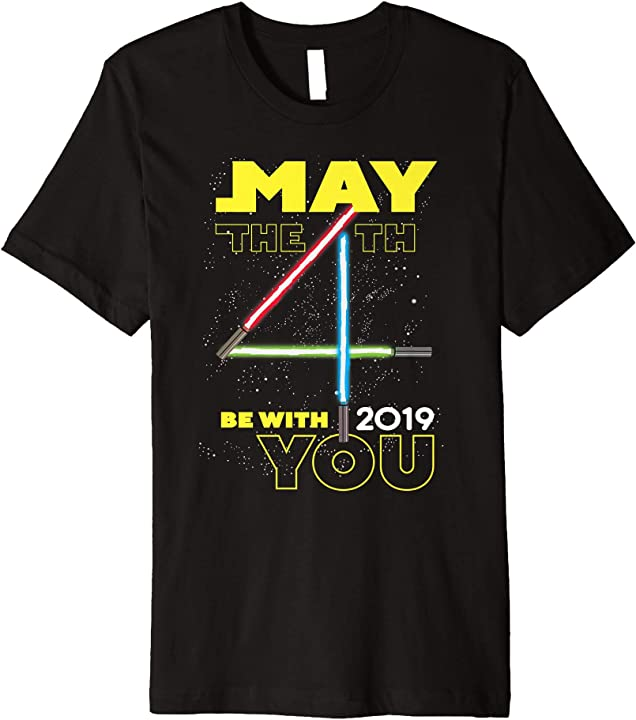 May The Fourth Be With You 2019: Star Wars May The 4th Be With You 2019 Lightsabers Premium