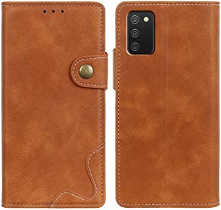 MOONCASE Case for Galaxy A02S, Premium PU Leather Cover Wallet Pouch Flip Case Card Slots Magnetic Closure Mobile Phone Pr...