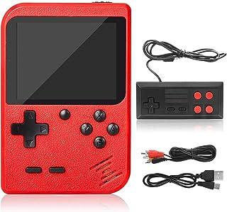 DigitCont Console de Jeux Portable Retro FC Console de Jeux, avec 500 Classique Jeux FC, 3 Pouces écran Couleur, 1020mAh R...