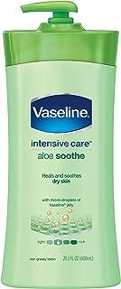 Vaseline Intensive Care Lotion, Aloe Soothe 20.3 oz