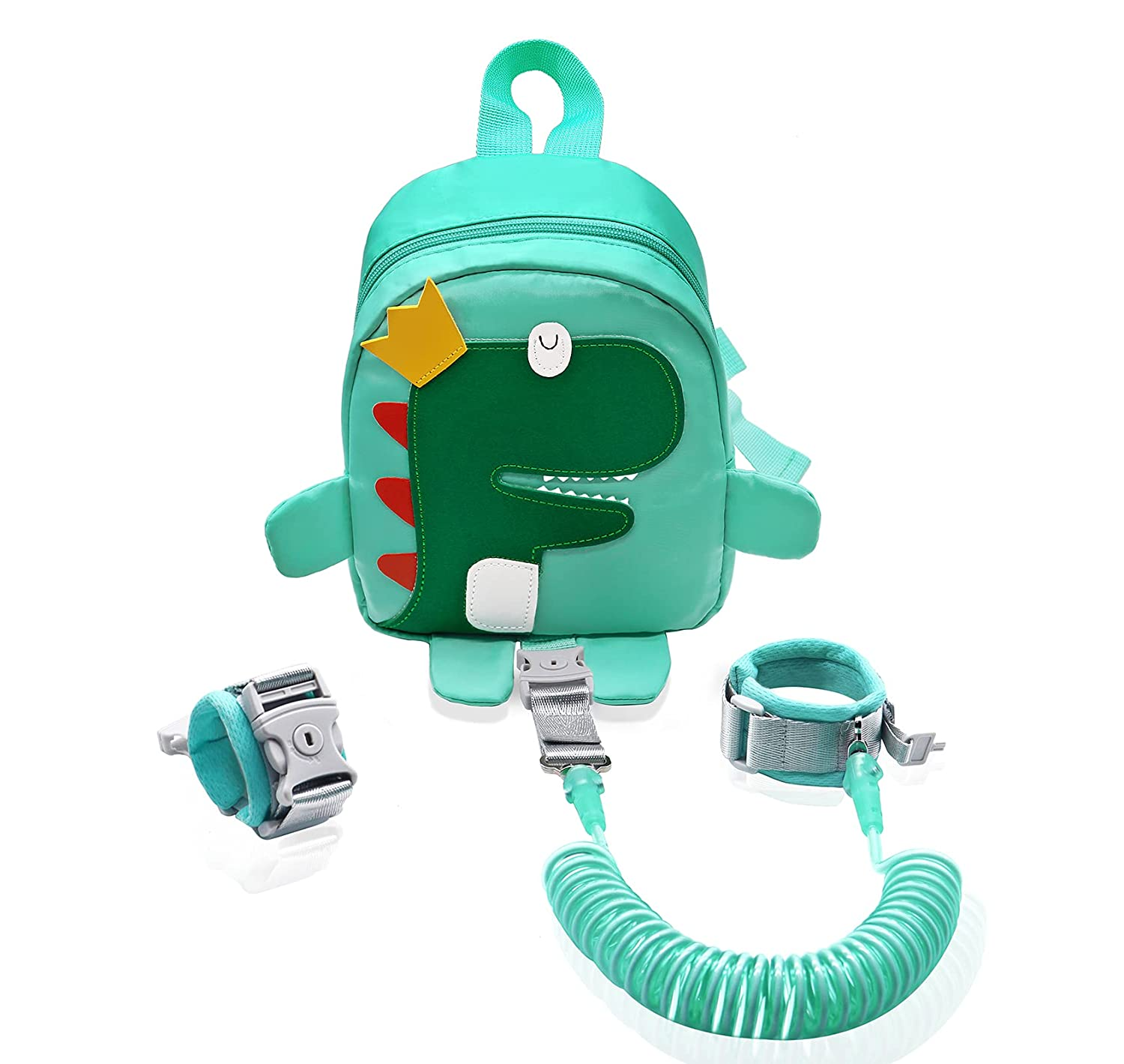 Backpack Leash for Toddlers - Dinosaur Kids Backpack Harness with Leash for 1-5 Years Old Boys Child Backpack Leash