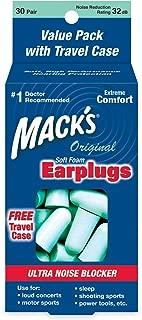 Macks Original Soft Foam Earplugs, 30-Pairs (Pack of 2)
