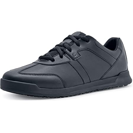 Shoes for Crews 38140-39/6 Freestyle Men's Black Slip Resistant Trainers, 6 UK