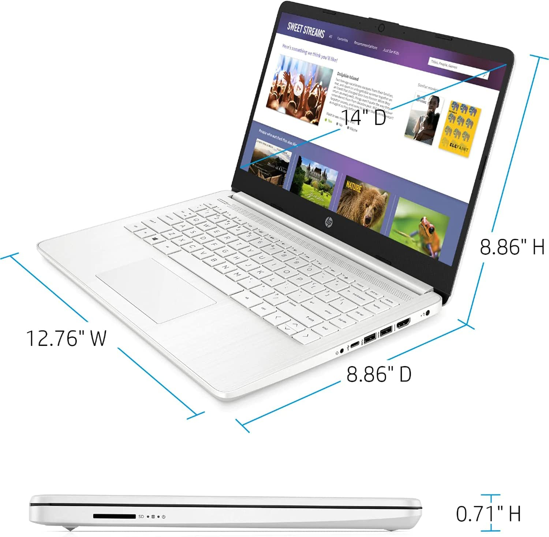 2021 Newest HP Premium 14 - inch HD Laptop
