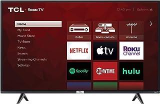TCL 43S435 43 inch LED 4-Series Roku Smart 4K UHD TV (Renewed)