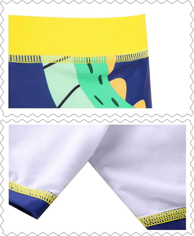 5-16 a/ños Gogokids Shorts de Ba/ño para Ni/ños J/óvenes Ba/ñadores Traje de Ba/ño Dibujos Animados Secado R/ápido con Gorro de Ba/ño para Vacaciones Piscina Playa
