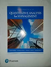 Quantatative Analysis for Management 13th edition (Loose Leaf)