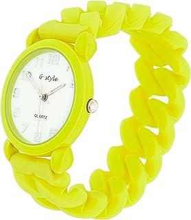 Orologio per bambini Bambini Ragazzi Ragazze Gomma Band Colorato Solido Colore regalo perfetto