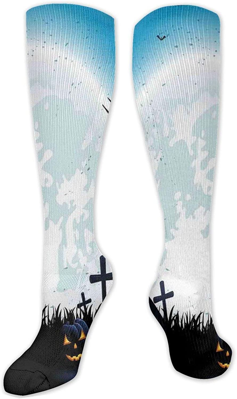 Best Compression Socks Women Men Hg Size Over item handling ☆ Regular discount Stockings High One Knee