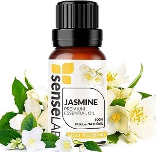 Sponsored Ad - Jasmine Essential Oil - Made in India - 100% Pure Extract Jasmine Oil Therapeutic Grade (0.33 Fl Oz / 10 ml)