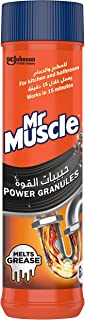 Mr. Muscle Power Granules for Grease and Food Clogs, 500 g