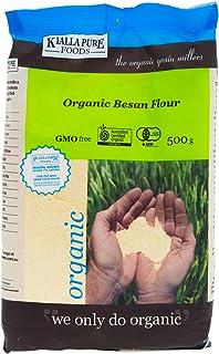 Kialla Pure Foods Organic Besan Chick Pea Flour, 500 g