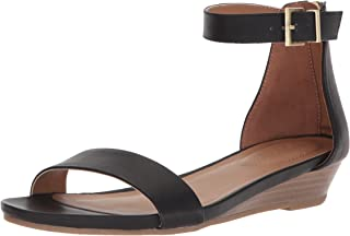Women's Viber Ankle Strap Low Wedge Sandal