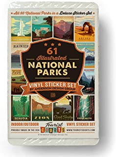Best 59 piece deluxe national parks sticker set Reviews