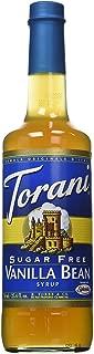 Torani Sugar Free Vanilla Bean Syrup w/ Splenda, 750 mL