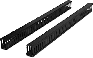 CyberPower CRA30001 Vertical Duct Cable Manager Cases, Black
