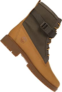 Timberland Jayne Fabric and Leather Waterproof Side Zip Boot