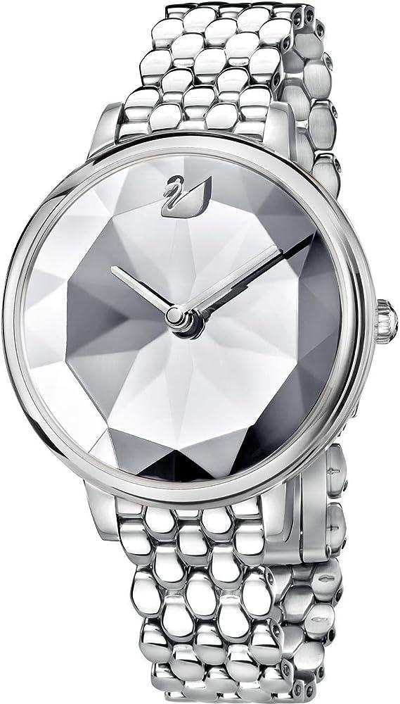 Swarovski crystal orologio analogico da donna in acciaio inossidabile 5416017