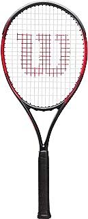 Wilson Unisex Adult 2-WRT30660U2 F Tek 100 Tennis Racket Without Cover - Black/Red, Grip 2