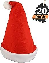 Babbo Natale Fatto Con I Bicchieri Di Plastica.Amazon It Cappelli Babbo Natale