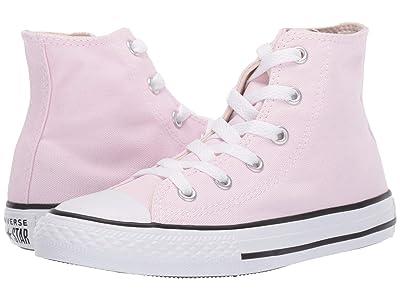 Converse Kids Chuck Taylor(r) All Star(r) Seasonal Hi (Little Kid/Big Kid) (Pink Foam/Natural Ivory/White) Girl