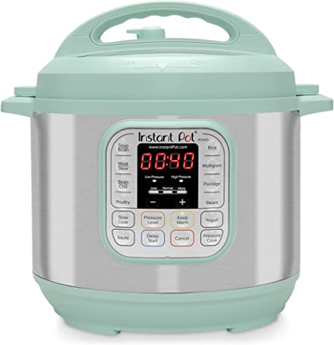 Instant Pot Duo 7-in-1 Electric Pressure Cooker, Slow Cooker, Rice Cooker, Steamer, Saute, Yogurt Maker, and Warmer, ...