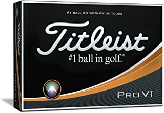 Titleist Pro V1 ゴルフボール ホワイト 1ダース