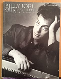 Billy Joel - Greatest Hits, Volumes 1 and 2 - Piano/Vocal/Gu