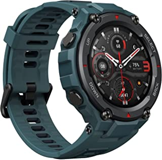 Amazfit T-Rex Pro Smartwatch Fitness Watch with Built-in GPS, Military Standard Certified, 18 Day Battery Life, SpO2, Hear...