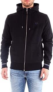 Fred Perry Men's Hooded Zip Through Sweatshirt