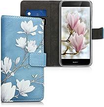 Cover Huawei P8 Lite 2017 SONWO PU Pelle Flip Portafoglio Custodia ...