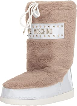 All over Faux Fur Boot