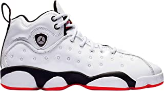 Jordan Youth Jumpman Team II GS Leather Synthetic Trainers