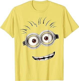 Minions Bob Smiling Face Graphic T-Shirt