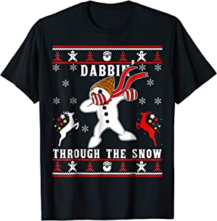 dabbin through the snow kids