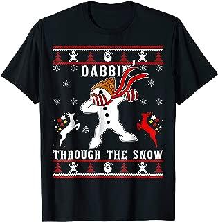 MrBingle-Dabbin' Through-The-Snow Xmas-Dabbing T-Shirt