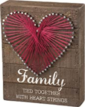 Primitives by Kathy String Art Sign, Family