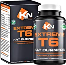 Extreme T6 – High Strength Fat Burners Weight Loss Diet Pills for Women Men Massive 2 Months Supplement Supply Vegetarian Gluten Free UK GMP Certified Estimated Price : £ 16,99