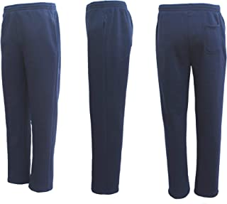Zmart New Adult Mens Unisex Track Suit Fleece Lined Pants Sport Gym Work Casual Winter