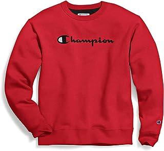 Champion Men's Powerblend Graphic Crew Sweatshirt