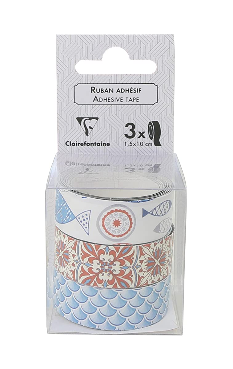 Clairefontaine Ceramic Adhesive Tape (Pack of 3)