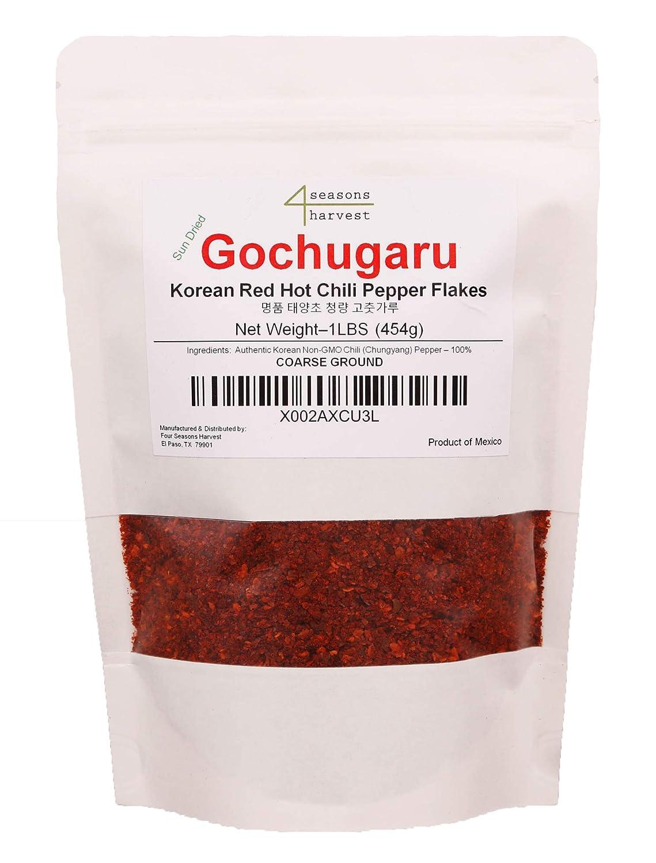Korean Miami Mall Chili Powder Gochugaru - Austin Mall Sun Non-GMO Dried Fla Pepper Red