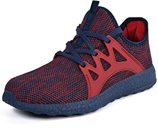 hot sales 0e4d4 54400 ZOCAVIA Mens Sneakers Ultra Lightweight Breathable Mesh Street Sport Gym  Running Walking Shoes