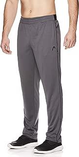 Men's Running Pants - Performance Jogging Workout & Training Sweatpants w/Zippered Pockets