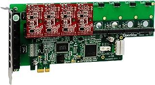 OpenVox A800E04 8 Port Analog PCI-E Base Card + 0 FXS + 4 FXO
