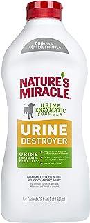 Nature's Miracle Urine Destroyer Dog 32 Ounces, Enzymatic Formula, Pour