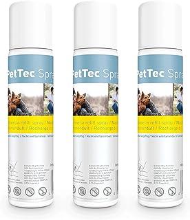 PetTec Nachfüllspray für Hunde Sprühhalsband *Made in Germany* Zitronenspray / Neutral..