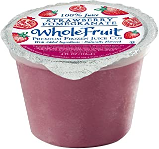 Whole Fruit Strawberry Pomegranate Premium Juice Cup, 4 Ounce -- 96 per case.