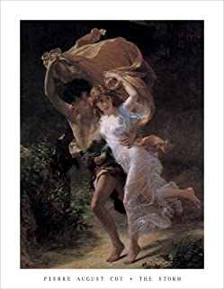 HUNTINGTON GRAPHICS The Storm by Pierre-Auguste Cot - Art Print/Poster 11x14 inches
