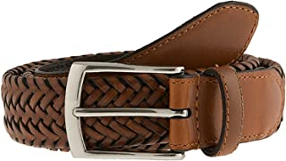 Dents - Plaited leather belt